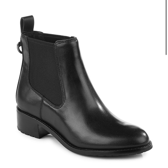 ✨ Cole Haan Newburg Leather Chelsea Boots brown